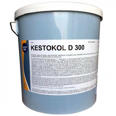 Клей ПВА KESTOKOL D300 (D3), 15 кг