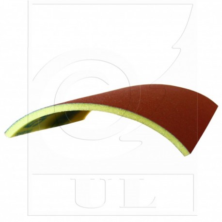 Абразивный лист ткань на поролоне P 220
