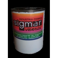 Шпаклевка SIGMAR черная OMP1472, 1 кг