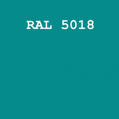 RAL5018/KOPT220 шовк/мат.