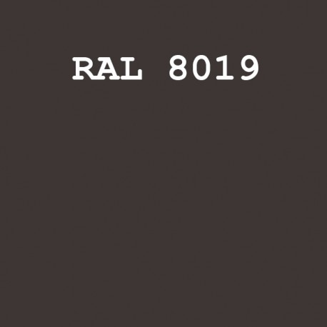 RAL8019/KOPT220 шовк/мат.