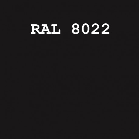 RAL8022/KOPT220 шовк/мат.